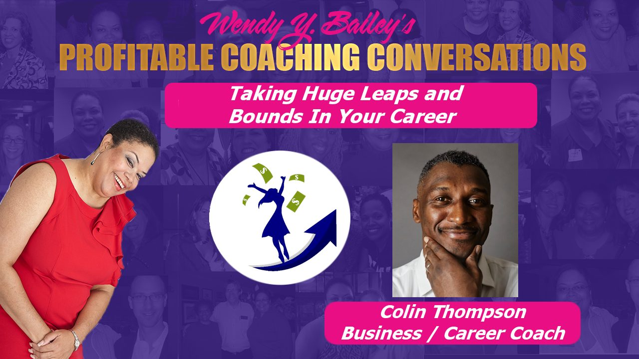 Colin Thompson, Oligye Enterprises, career coaching, business consulting, career coach, business consultant,