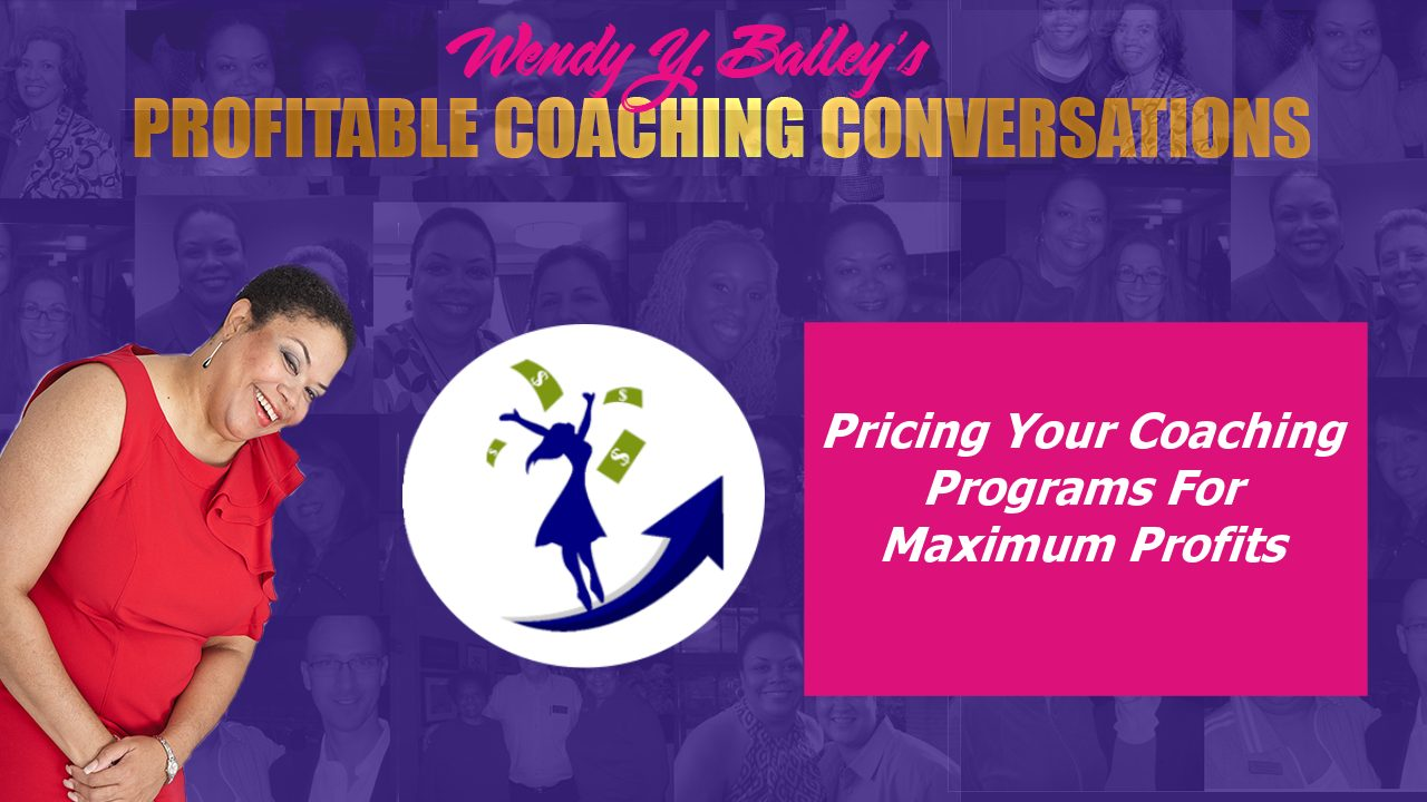 pricing your coaching programs for profit